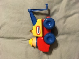 Vtg Little Tikes I-80 Expressway Toddle Totmobile Tow Truck Vehicle Car - $12.86