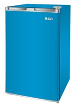 RCA RFR321-FR320/8 IGLOO Mini Refrigerator, 3.2 Cu Ft Fridge, Blue - $510.57