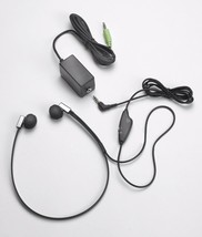 """FLX10 Transcription Headset with 3.5mm 1/8"""" connector and quick connect ... - $32.95"""