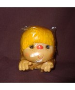 """Doll Head Hands Yellow Hair 4""""   Old Stock - $9.99"""