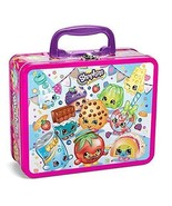 Shopkins 100 piece Puzzle asst Lunchbox Tin Characters Tin Lunch Box Cas... - $19.99