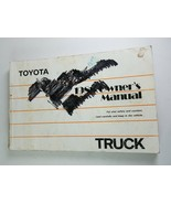 1988 Toyota Truck Owner's Manual - $16.14