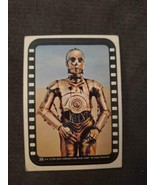 1977 Star Wars STICKER #26 The Fantastic Droid Threepio ~ C-3PO - £2.61 GBP