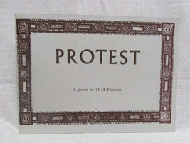 Protest a Poem by Thomas, D.M. - $49.00