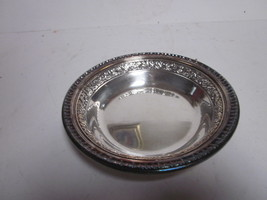 VINTAGE REED & BARTON 1201 SCROLL LEAF DESIGN SMALL SERVING BOWL - $9.99