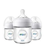 Philips Avent Natural Baby Bottle, Clear, 4oz, 3pk, SCF010/37 - $36.95