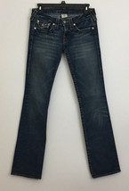 True Religion Low Rise Distressed Billy Jeans sz 27 - $31.67