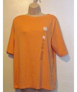 Charter Club New Casual Boat Neck Top Size 1X - $16.12
