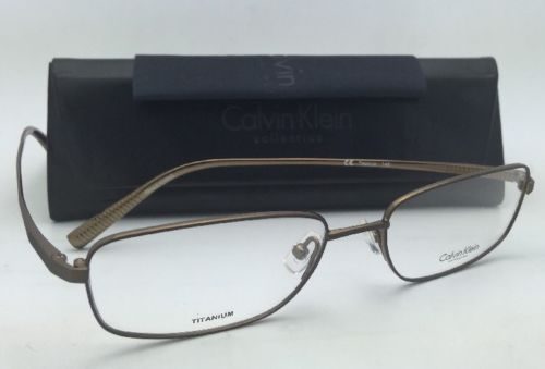 6afc608959c New Titanium CALVIN KLEIN Rx-able Eyeglasses and 8 similar items