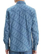 Levi's Men's Classic Casual Denim Printed Sawtooth Western Shirt image 5