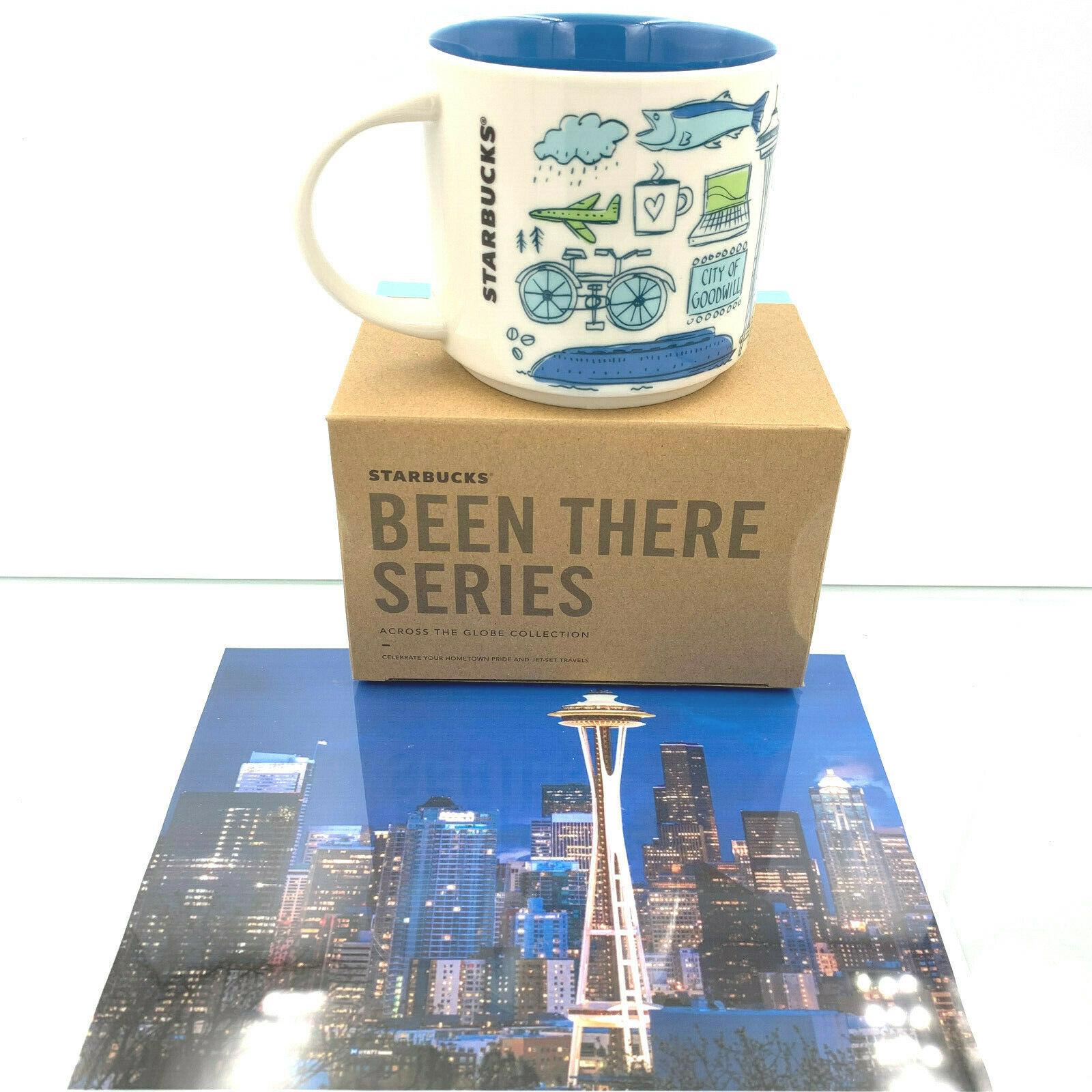 Starbucks Coffee Ceramic Mug Cup USA World Collection Coffee Tea Hot 14 oz Gift image 2