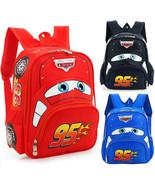Baby Kid Toddler Cartoon Lightning McQueen Backpack Shoulder School Bag ... - $25.95