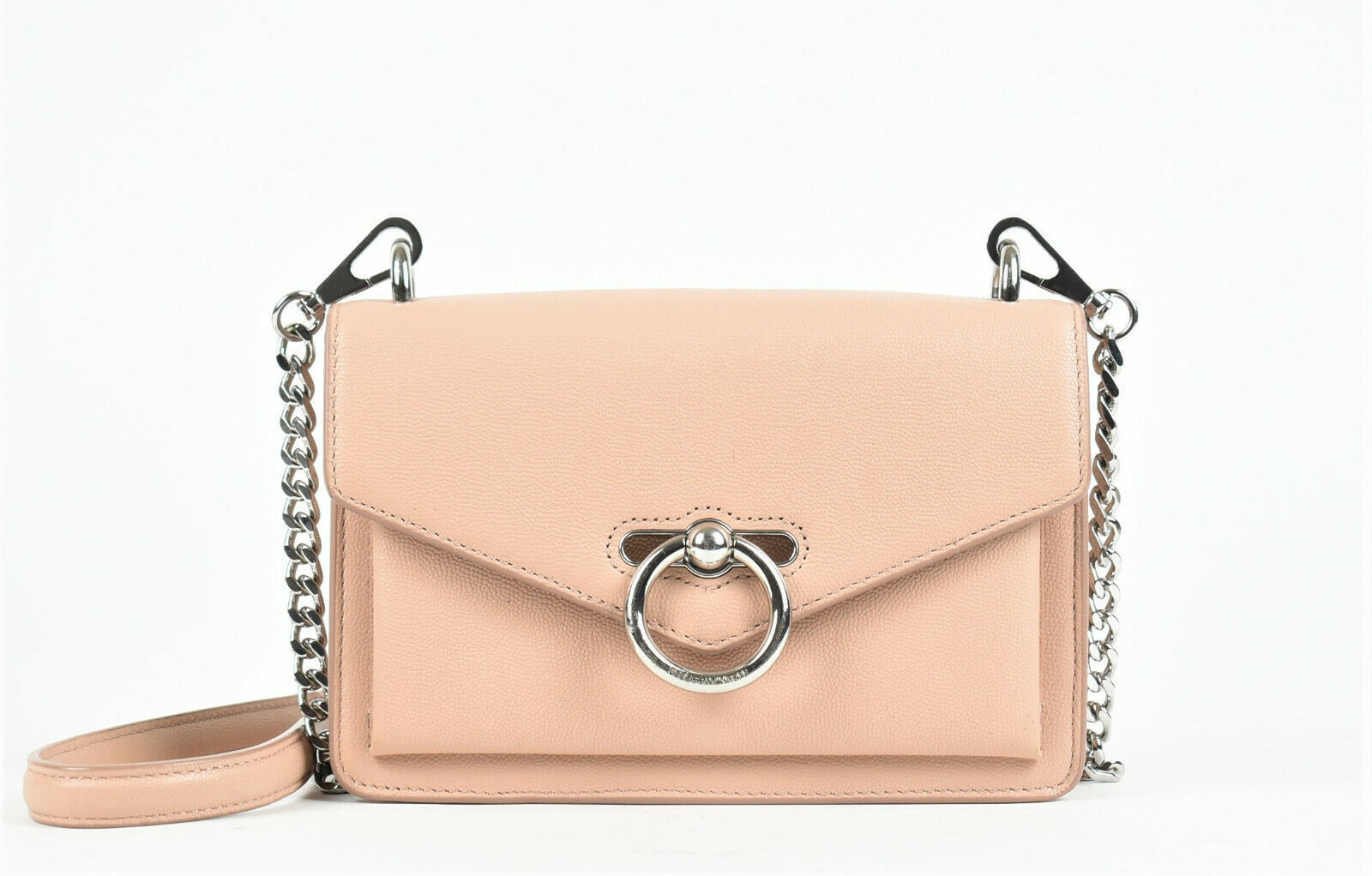 Primary image for Rebecca Minkoff Jean Leather Crossbody Bag - Beige (Retail price - $198)