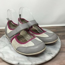 Vionic Ailie Womens Size 8 White Mesh Pink Trim Casual Sneakers NO INSOLES - $24.95