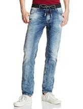 Diesel Men's Premium Designer Denim Sweat Jogger Stretch Jeans Waykee 0685H