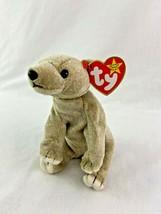Ty Beanie Baby Almond Bear Plush 1999 - $9.89