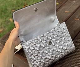 Tory Burch Fleming Metallic Convertible Shoulder Bag image 5