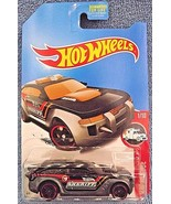 2017 Hot Wheels DVD04 TREASURE HUNT HW Rescue 10/10 HW PURSUIT Black/Gra... - $6.19
