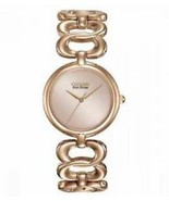Citizen Eco-Drive Women's EM0223-55Q Rose Gold Stainless Steel Bangle Ba... - $99.99