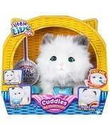 Little Live Pets Cuddles My Dream Kitten White Plush Kitty Interactive C... - $64.99