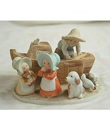 Circle of Friends Noah's Ark Porcelain Figurine by Masterpiece 1995 HOMCO - $39.59