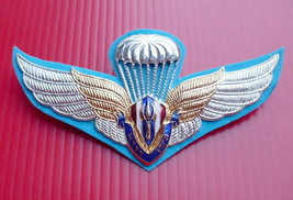 Thai Army parasal Wing Badge Thai Reserve Officer Training Corps Student... - $17.77