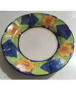 Solimene Vietri Ceramic Handpainted Decorative Dinner Plate- Made In Italy - $39.00