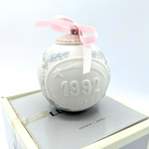 Lladro 1992 Porcelain Christmas Ball Ornament 15914 Bola Navidad Retired... - $17.95