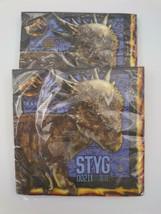 Unique Napkins Lot of 2 Packages Jurassic World Styg Dinosaur Stygimoloch - $9.99
