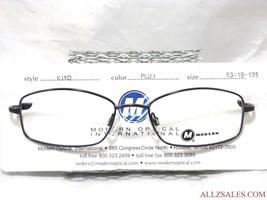 Modern Optical KIND Women's Prescription Eyeglasses Metal Frame, Plum - NEW - $34.60