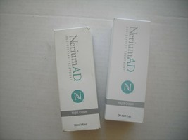REAL dewrinkler! 2 New NERIUM AD NIGHT CREAMS. Guaranteed authentic (see... - $88.11