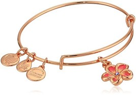 Alex and Ani Womens Color Infusion Tropical Flower (Expandable Shiny Rose) - $42.04