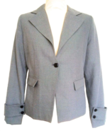 40s Style Vintage Gray Structured Formal Professional Career Ladies Suit... - $29.00