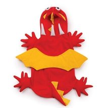 Zack & Zoey Dog Dragon Red & Yellow Costume - Small Size - $34.95