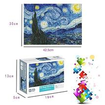 OZMI Jigsaw Puzzles 1000 Pieces for Adults and Kids, Starry Night Adult Jigsaw P image 3