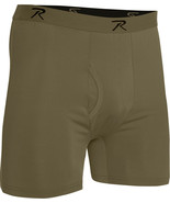 Coyote Brown AR 670-1 Boxer Shorts Moisture Wicking Performance Mens Und... - $16.99+