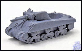 3D Printed Sherman Tank Token Cup Custom Accessory - $25.00