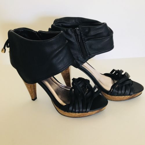 df669004565 qupid heels womens Size 7 Black Sexy and 50 similar items. 12