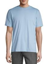 George Men's Crew Neck Tee Shirt Small 34-36 Blue Sparrow Moisture Wicki... - $10.39