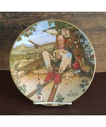 Ghent Collection by Gorham China Norman Rockwell Plate April Fool 1980 / Box 72 - $15.00