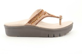 Abeo Mystic Wedges Sandals Taupe Women's Size US 8 Neutral Footbed ( ) - $112.86