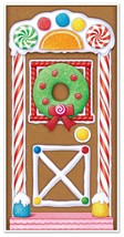 """Beistle 20017 Gingerbread House Door Cover, 30"""" x 5' [20017] Christmas NEW - $9.07"""