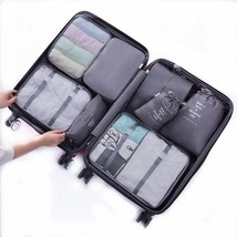 8 pcs Luggage Packing Organizers Packing Cubes Set for Travel Grey - $987,33 MXN