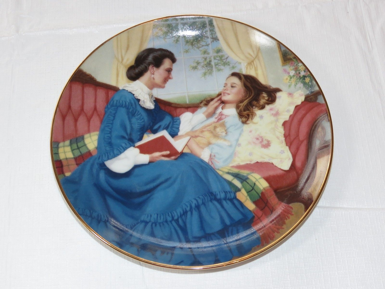 Primary image for Marmee and Beth Elaine Gignilliat Little Women Danbury Mint Collector Plate ~