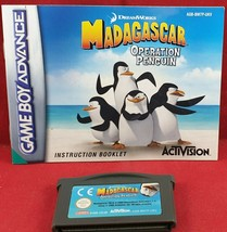 Madagascar: Operation Penguin Game & Manual Only (Nintendo Game Boy Adva... - $6.18