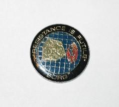 Star Trek: The Next Generation Borg Resistance Logo Metal Enamel Pin 199... - $7.84