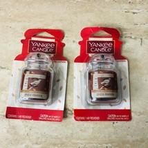 (2) Yankee Candle Car Auto Air Freshener Spiced Pumpkin Limited Edition ... - $16.79