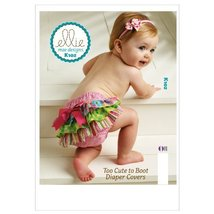 Kwik Sew K0102 Too Cute to Boot Diaper Covers Sewing Pattern, Size XS-S-... - $13.72