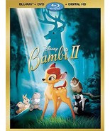 Disney Bambi II 2 (DVD Blu-ray) [Upgraded to Slim DVD Case] - $14.84