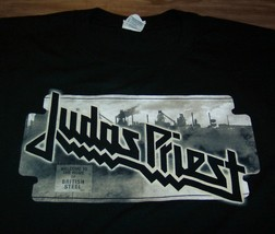 J0UDAS PRIEST BRITISH STEEL 2009 NORTH AMERICAN TOUR T-Shirt MENS XL NEW - $24.74